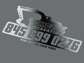 Tomczak Excavating Logo