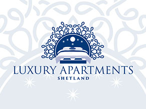 Luxury Apartments Shetland Logo and Website