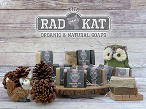 Rad Kat Product Labels and Logo
